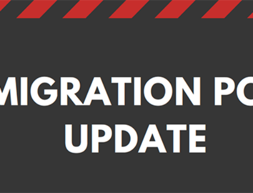 Immigration Policy Update